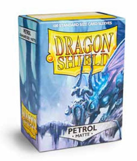 Dragon Shields: Standard Matte - Petrol (100)