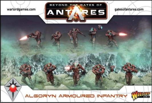 Beyond The Gates Of Antares: Algoryn Armoured Infantry