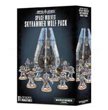 Warhammer 40K: Space Wolves Skyhammer Wolf Pack