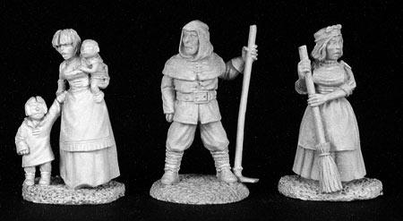 Dark Heaven Legends: Townsfolk V, Commoners