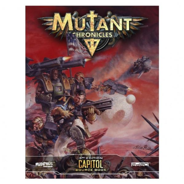 Mutant Chronicles RPG: Capitol Source Book