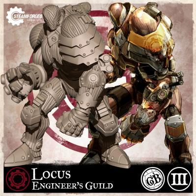 GuildBall: (Enginer's Guild) Locus (Season 3)