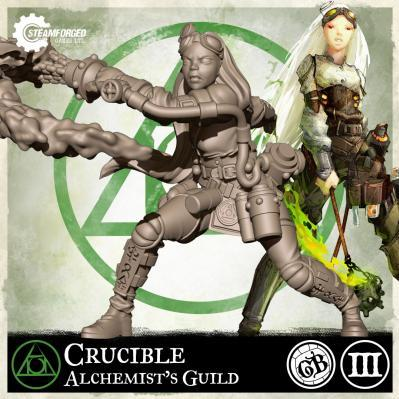GuildBall: (Alchemist's Guild) Crucible (Season 3)