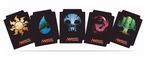 Magic The Gathering: Mana 5 Divider Pack