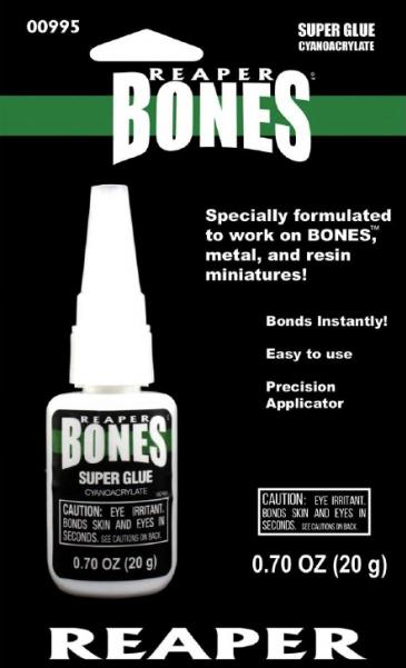 Reaper Bones Super Glue - .70oz/20g