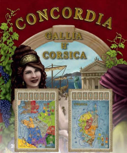 Concordia: Gallia Et Corsica Expansion