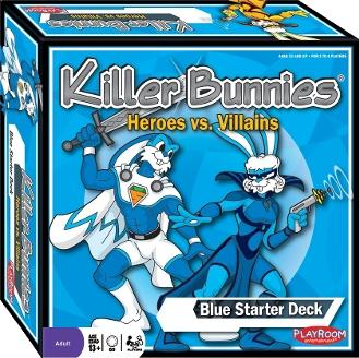 Killer Bunnies: Heroes vs. Villains Blue Starter Set