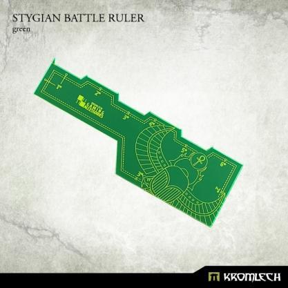 Kromlech Accessories: Stygian Battle Ruler [green] (1)