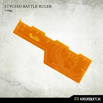 Kromlech Accessories: Stygian Battle Ruler [orange] (1)