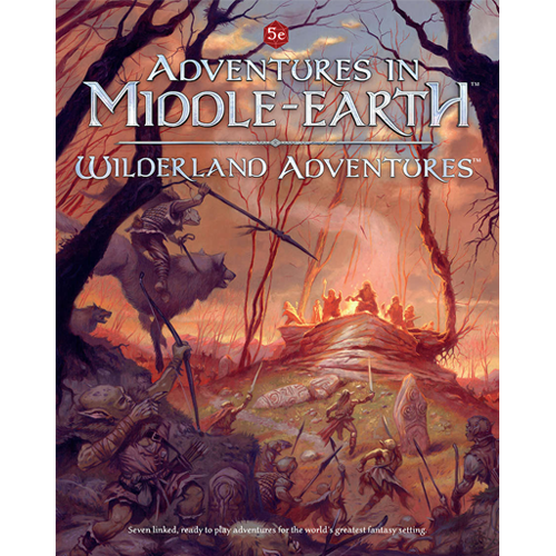 Dungeons & Dragons RPG: Adventures In Middle-Earth Wilderland Adventures