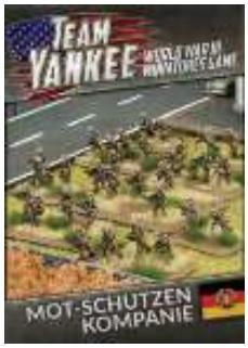 Flames Of War (Team Yankee): (East German) Mot-Schutzen Kompanie (73 figures)