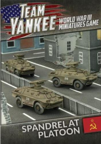 Flames Of War (Team Yankee): (Soviet) Spandrel Anti-Tank Platoon