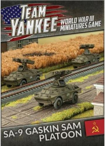 Flames Of War (Team Yankee): (Soviet) SA-9 Gaskin SAM Platoon
