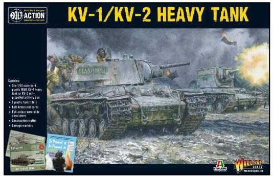 Bolt Action, 2nd Edition: (Soviet) KV1/2 Heavy Tank