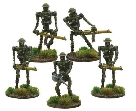 Bolt Action (Konflikt '47): (British) British Automated Infantry