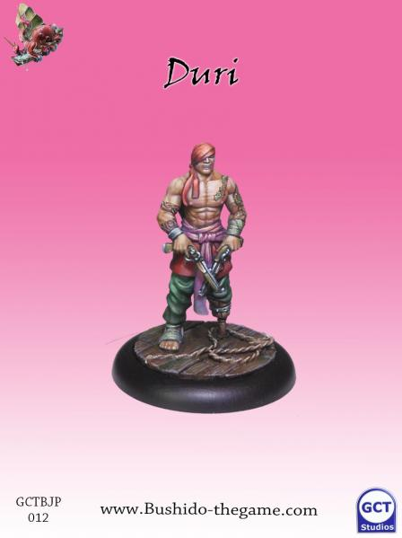 Bushido Miniatures: (Jung Pirates) Duri