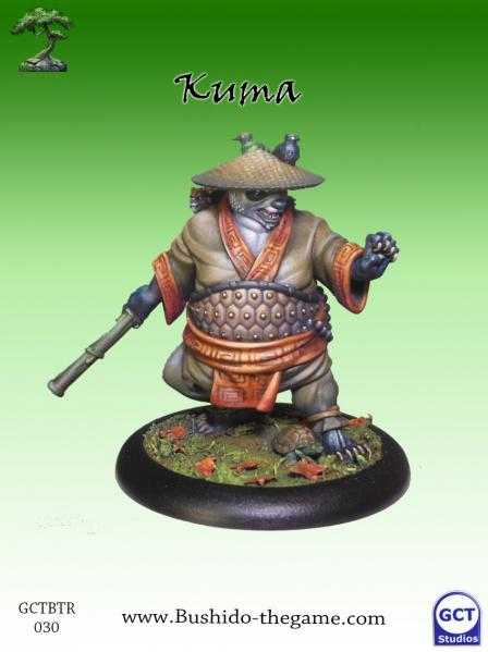 Bushido Miniatures: (Temple Of Ro-Kan) Kuma