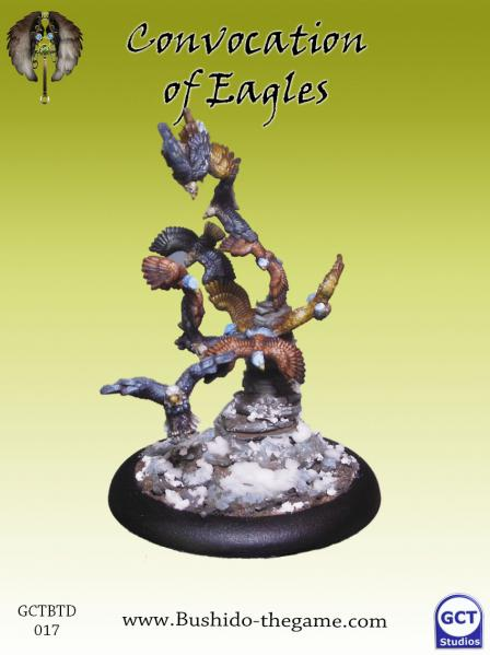 Bushido Miniatures: (Tengu Descension) Convocation of Eagles
