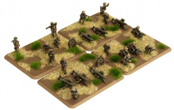 Flames Of War (Team Yankee): (German) East German Mot-Schutzen Heavy Weapons (24)