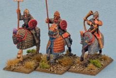 28mm Ancients: Late Roman Cataphract Command (3)