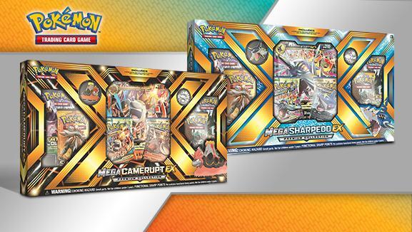 Pokemon CCG: Mega Camerupt / Sharpedo EX (1)