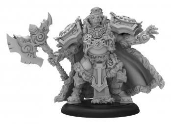 Warmachine: (Khador) Greylord Forge Seer - Khador Solo (metal/resin)