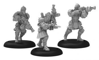 Warmachine: (Khador) Assault Kommander Strakov - Khador Warcaster Unit (metal)
