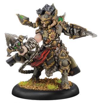 Warmachine: (Cryx) Captain Aiakos - Cryx Warcaster (metal)