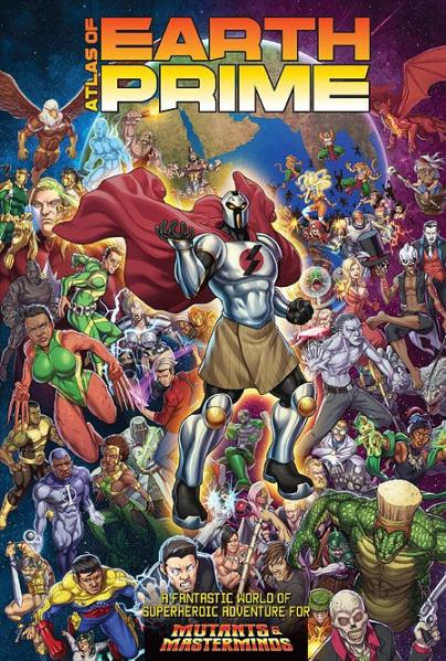 Mutants & Masterminds, 3rd Edition RPG: Atlas of Earth Prime