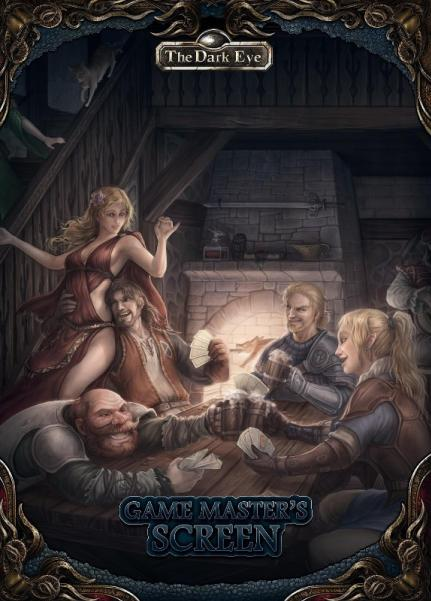 The Dark Eye RPG: Game Master's Screen & Tavern Guide