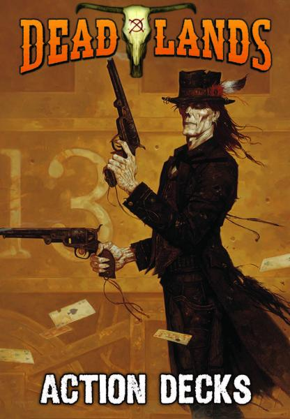 Savage Worlds RPG: Deadlands 20th Anniversary Action Decks