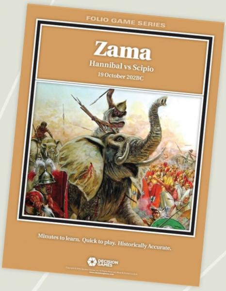 Folio Game Series: Zama - Hannibal vs Scipio