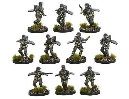 Bolt Action (Konflikt '47): (USA) US Firefly Jump Infantry