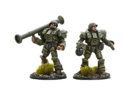 Bolt Action (Konflikt '47): (USA) US Heavy Bazooka Team
