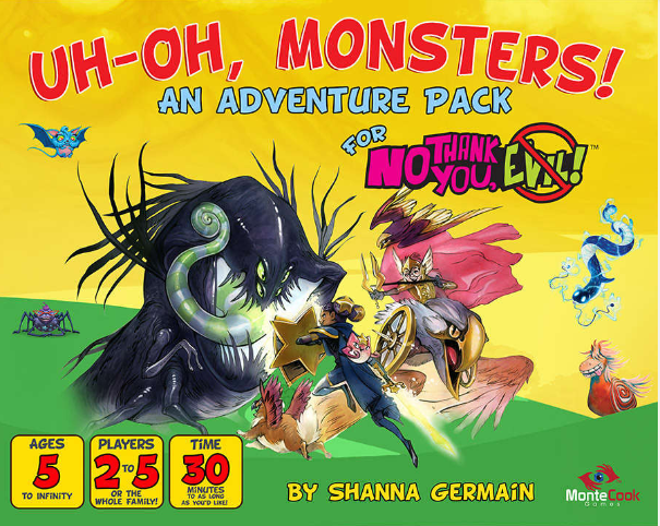 No Thank You Evil! RPG: Uh-Oh, Monsters! Expansion