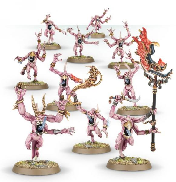 Age of Sigmar: Pink Horrors of Tzeentech