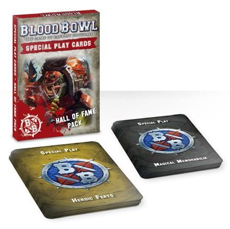 Blood Bowl: BLOOD BOWL CARDS HALL OF FAME PACK