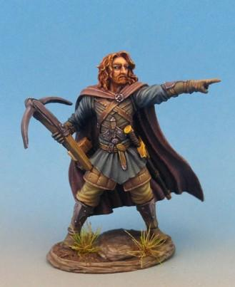 Visions In Fantasy: Male Warrior with Crossbow