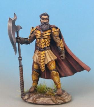 Visions In Fantasy: Male Warrior with Great Sword/Great Axe Weapon Options
