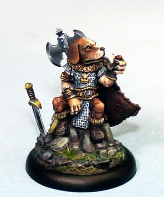 Critter Kingdoms: Beagle Warrior