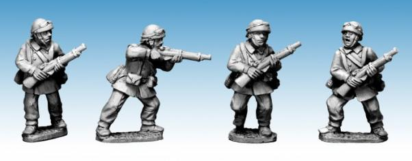 Crusader Miniatures: French M/C Troop Riflemen (II) (4)