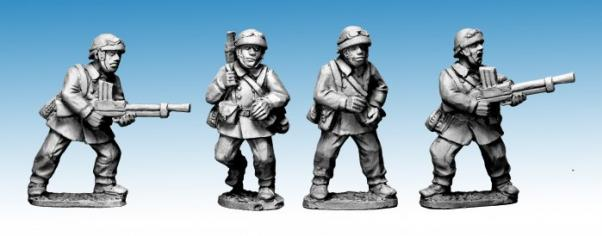 Crusader Miniatures: French M/C Troop LMG Teams (4)
