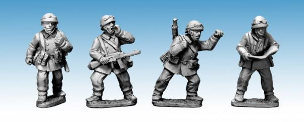 Crusader Miniatures: French M/C Troop Command (4)