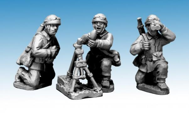 Crusader Miniatures: French M/C Troop 60mm Mortar