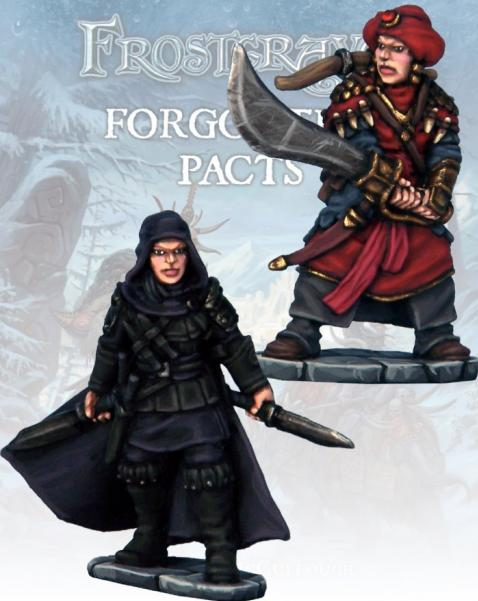 Frostgrave: Assassin & Demon Hunter