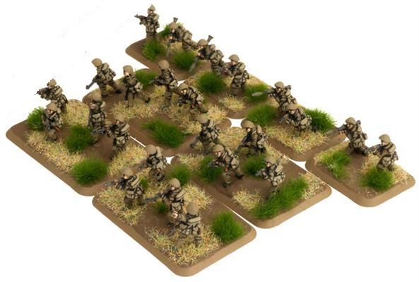 Flames Of War (Team Yankee): (German) East German Mot-Schutzen Platoon (24)