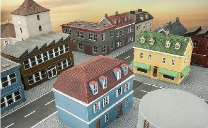 Battlefield In A Box: Cobblestone Town Squares (x2)