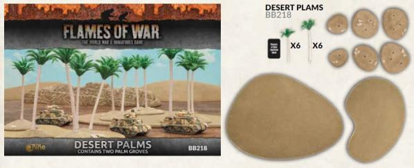 Flames of War: Desert Palms (x2)