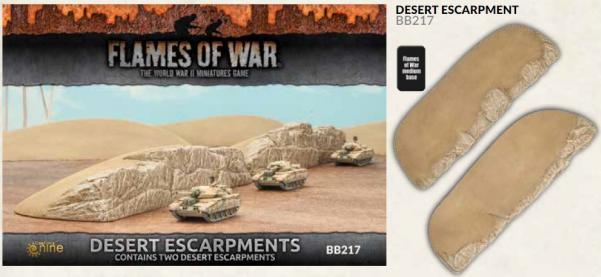 Battlefield in a Box: Desert Escarpments (x2)