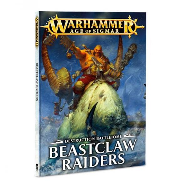 Age of Sigmar: Battletome: Beastclaw Raiders (SC)